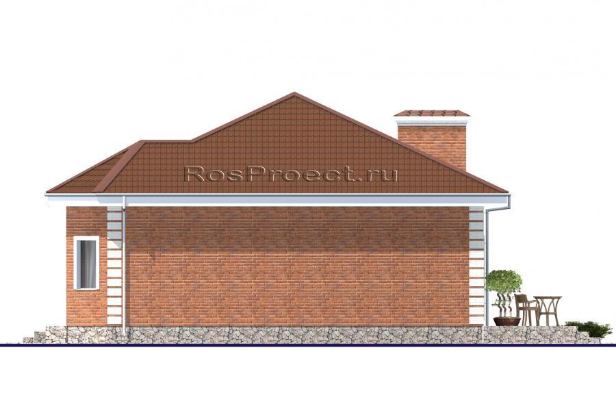 BD - 34 Дачный дом из бруса 6 х 9 - СтройТеремок Проект