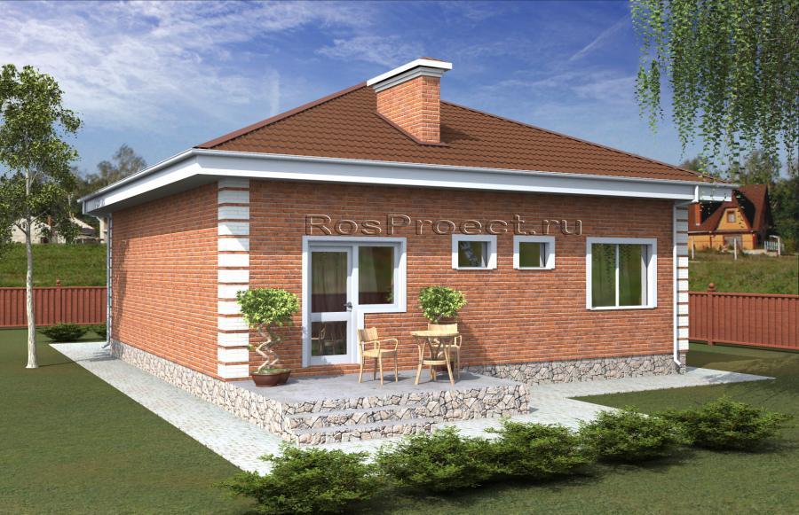 Проекты домов на две семьи - Страница 2